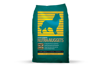 Super Premium Nutra Nuggets Dog Food