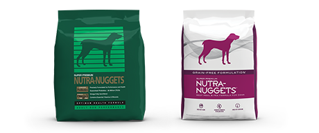 Nutra Nuggets US product bags